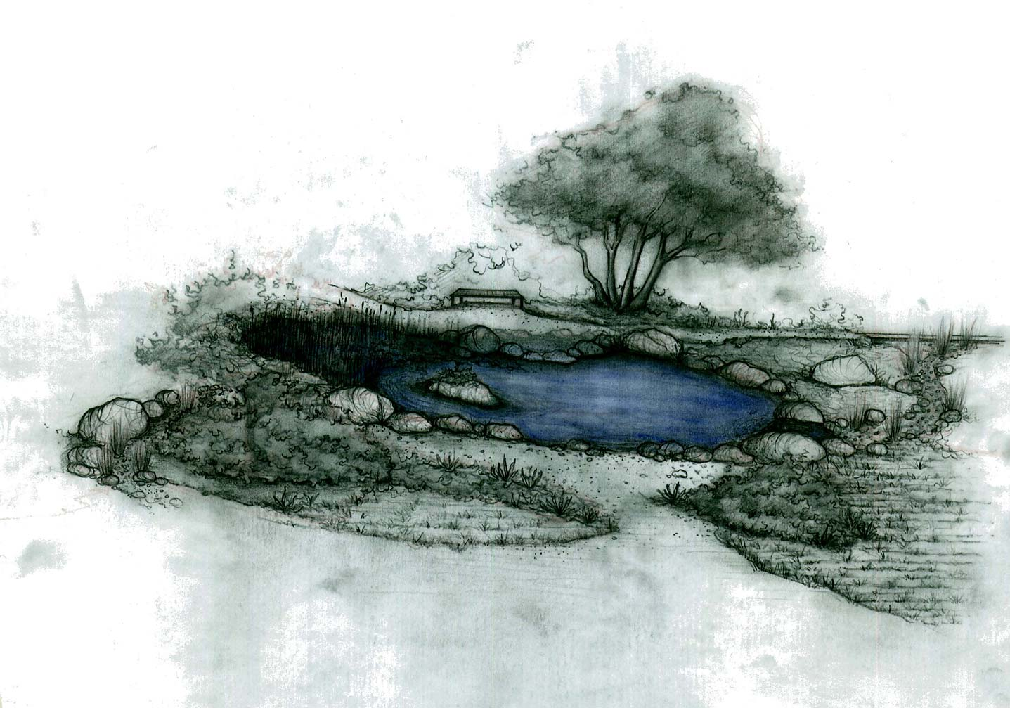 Architectural graphics owen dell and associates llc for Design criteria of pond